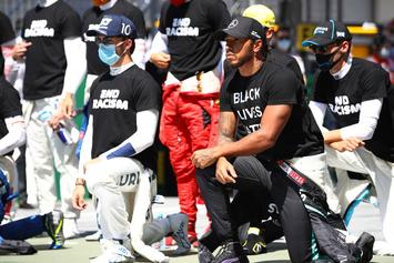 Formula 1 Drivers Kneel In Protest Against Racism Prior To First Race