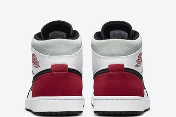 """Air Jordan 1 Mid Gets """"Union-""""Inspired Colorway: Photos"""