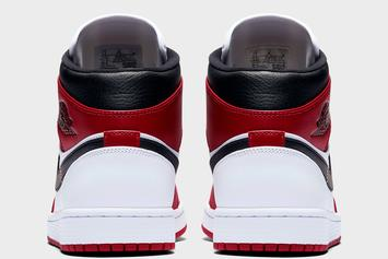 "Air Jordan 1 Mid ""Chicago"" Drops Soon: Photos"