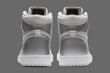 "Air Jordan 1 High OG ""Metallic Silver"" Release Date Revealed"