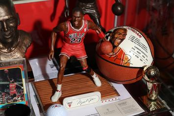 Michael Jordan's First-Ever Bulls Jersey To Auction For Lofty Price