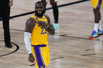 LeBron James Speaks Out After Lakers Lose To The Raptors