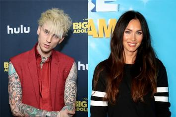 """Machine Gun Kelly & Megan Fox Share Sexy Towel Picture: """"My Heart Is Yours"""""""