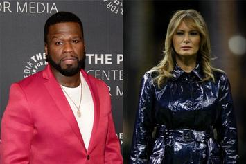 50 Cent Laughs After Melania Trump Repeatedly Refuses To Hold President's Hand