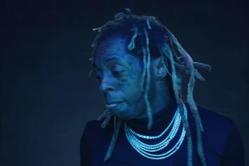 """Lil Wayne Offers Up Simple Yet Effective Visual For """"Big Worm"""""""