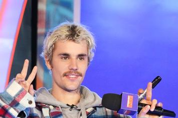 Justin Bieber Debuts New Neck Tattoo
