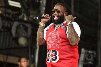 """Rick Ross Says He's Putting """"Final Touches"""" On New Album"""