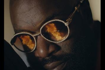 "Rick Ross Shares Powerful Visual For ""Pinned To The Cross"" Ft. Finn Matthews"