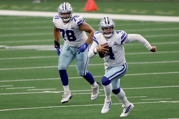 Dak Prescott Returns From Injury To Score Touchdown