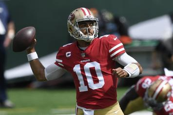 49ers Lose Jimmy Garoppolo To High-Ankle Sprain