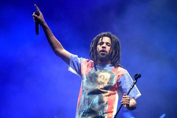 J. Cole's New Mural In North Carolina Is Outstanding