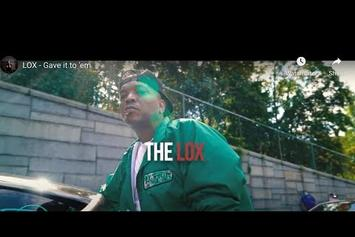 "The LOX Go Back To The Block For ""Gave It To Em"" Video"