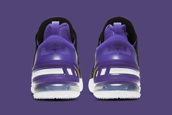 """Nike LeBron 18 """"Lakers"""" Revealed: Official Photos"""
