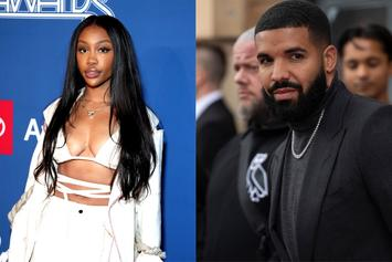 "SZA Reacts To Drake's Claim On ""Savage Mode II"" That They Used To Date"