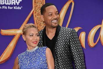 "Will Smith & Jada Pinkett Smith Laugh At ""Entanglement"" Crying Memes"