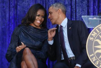 Barack & Michelle Obama Celebrate 28th Wedding Anniversary