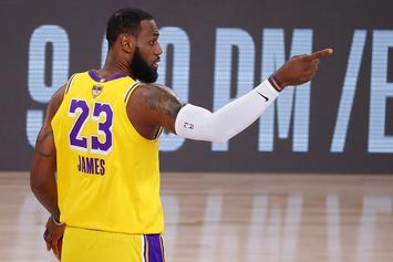 """LeBron James Explains What """"Mamba"""" Jerseys Mean To The Lakers"""