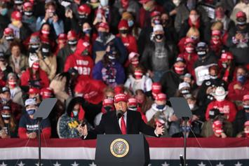 """Trump Rallies """"Lock Her Up"""" Chant Against Michigan Governor"""