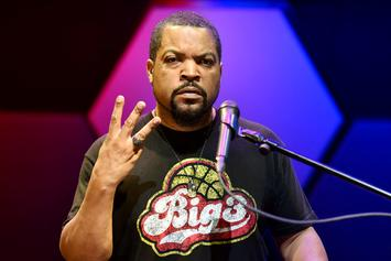 Ice Cube Baffled By Backlash Over Trump Meeting