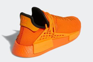 "Pharrell x Adidas NMD Hu Coming In ""Orange"" Offering: Photos"