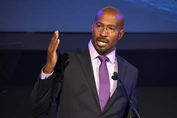 "Van Jones Tearfully Reacts To Trump's Defeat: ""It's Easier To Be A Dad"""