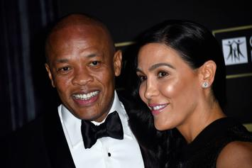 Dr. Dre's Alleged Mistress Is Giving His Wife A Hard Time