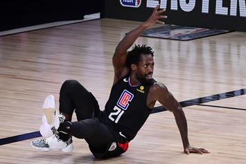 Patrick Beverley Appears Shocked By Montrezl Harrell Lakers Signing