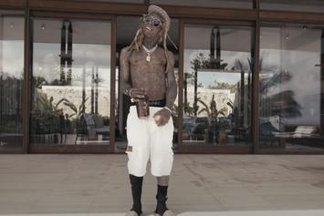 """Lil Wayne Enjoys Alone Time In Spacious Mansion In """"Something Different"""" Visual"""
