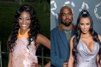 "Azealia Banks Disses Kim Kardashian, Blames Kanye For Her ""Beat Up C**chie"""