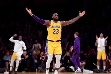 LeBron James Once Again Wins AP Male Athlete Of Year Award
