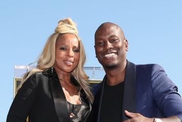 Mary J. Blige Didn't Want Tyrese Touching Her Thigh In Birthday Pic