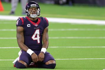 """Deshaun Watson """"Just Wants Out,"""" & Has Teammates' Support: Report"""