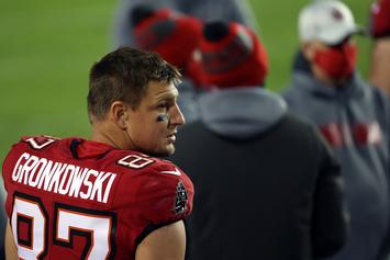 Rob Gronkowski Teases A Return To The Bucs Next Season