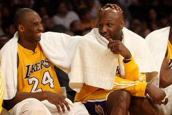 """Lamar Odom Gives Touching Tribute To Kobe Bryant: """"I Will Forever Love You Bro"""""""