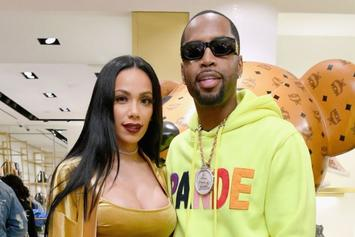 """Safaree Doesn't Want More Kids Because Erica Mena Got """"Too Fat"""" During Pregnancy"""