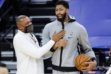 Anthony Davis Admits The Nets Are A Threat To The Lakers