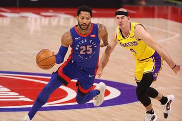 Knicks Nearing Trade To Acquire Derrick Rose From Pistons: Report