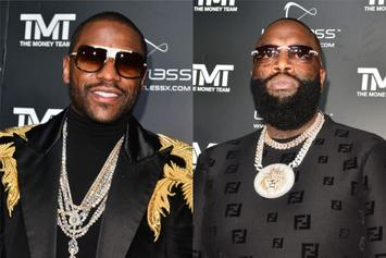 Floyd Mayweather Parties With Rick Ross For His 44th Birthday