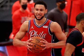 Ben Simmons Shocks Fans With Deep Three-Point Shot