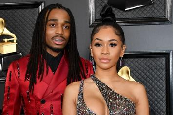 "Quavo Breaks His Silence On Fight: ""I Haven't Physically Abused Saweetie"""