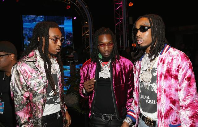 Migos backstage of the 2017 BET Awards