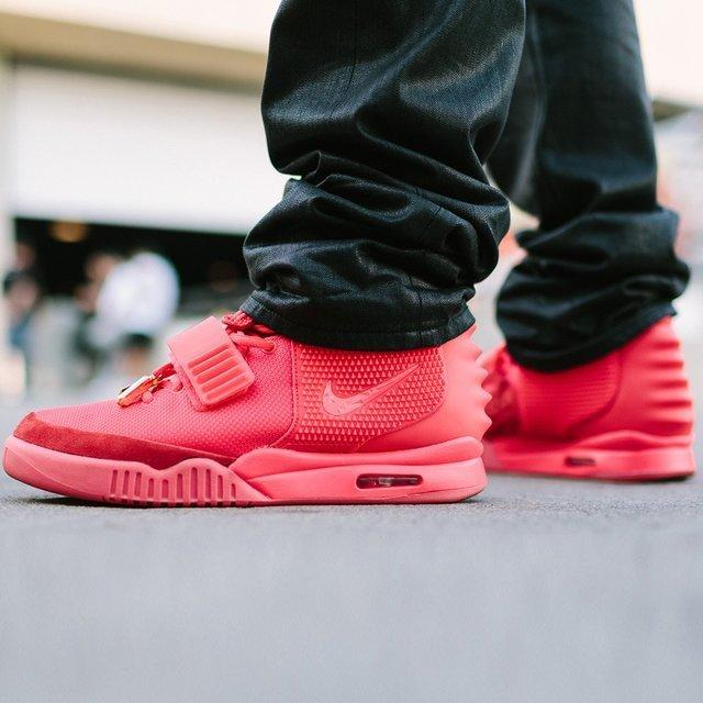 red air yeezys