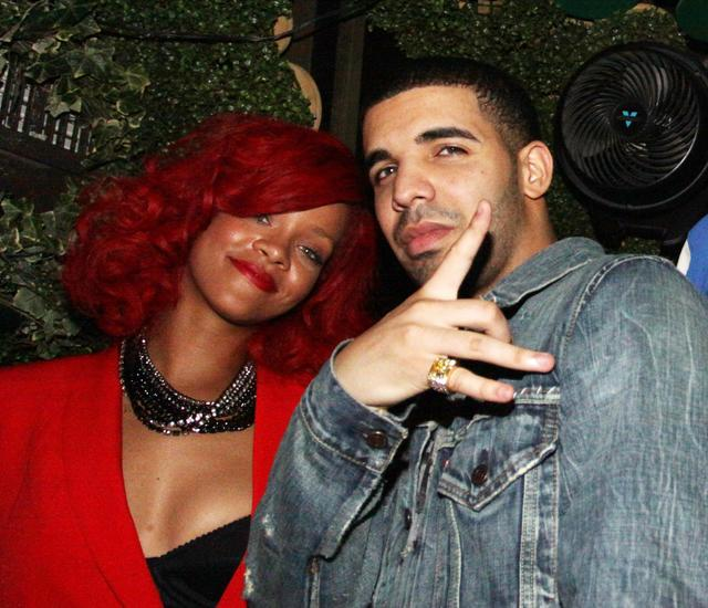Drake Rihanna after party