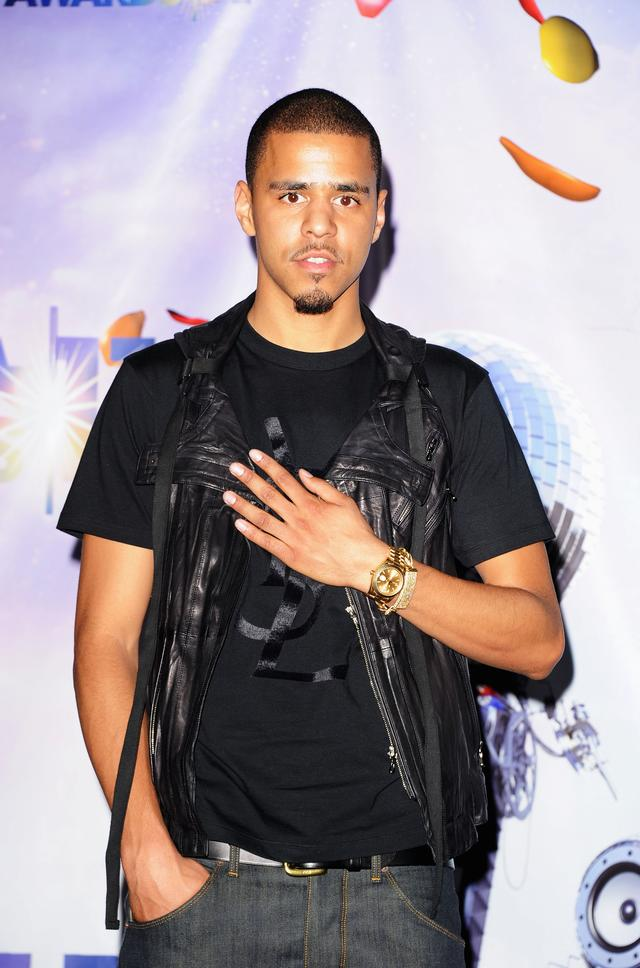 J. Cole at the BET Awards 2011