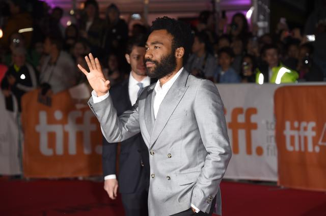 Actor Donald Glover attends 'The Martian' premiere during the 2015 Toronto International Film Festival at Roy Thomson Hall on September 11, 2015 in Toronto, Canada. (Photo by