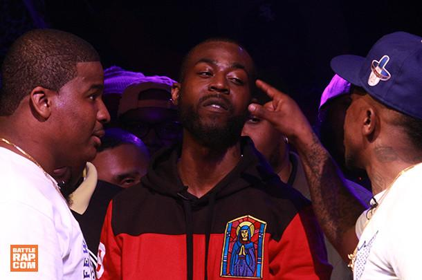 Tay Roc & Tsu Surf vs DNA & K-Shine