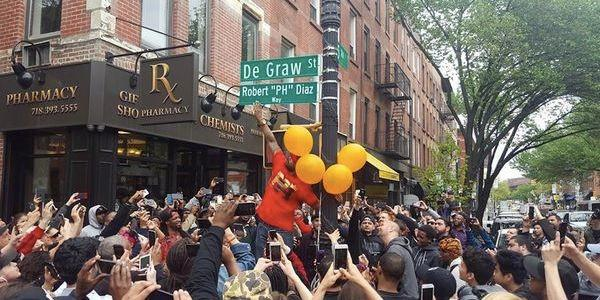 PH Gets a Brooklyn Street Named After Him