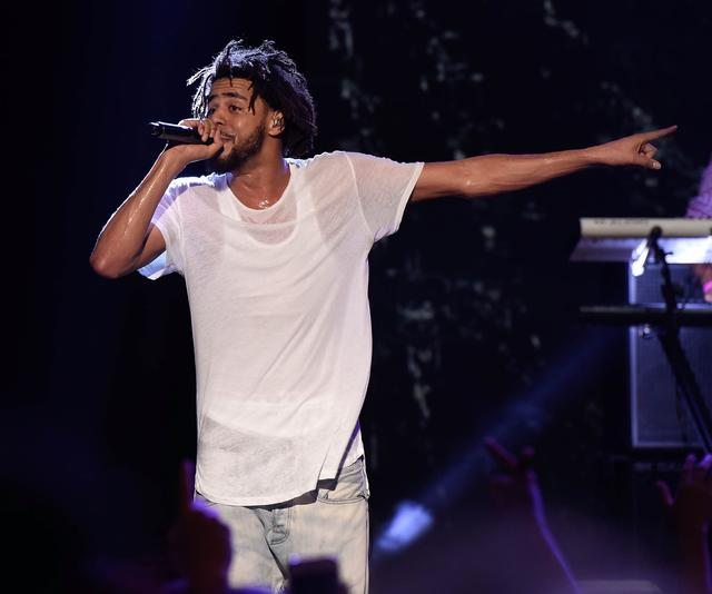 J. Cole at Hot 100 Billboard Festival
