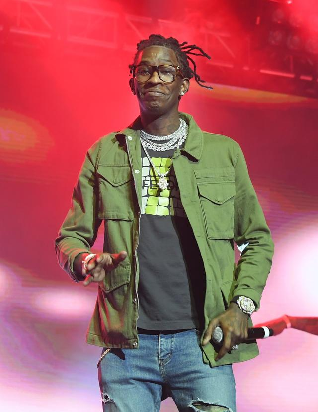Young Thug at CM9 concert release party