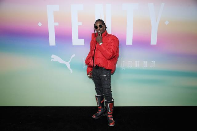 Offset at FENTY show